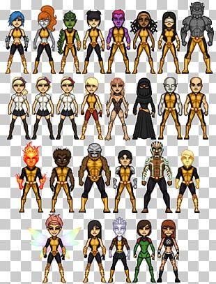 X-Men Professor X Rogue Wolverine Student PNG
