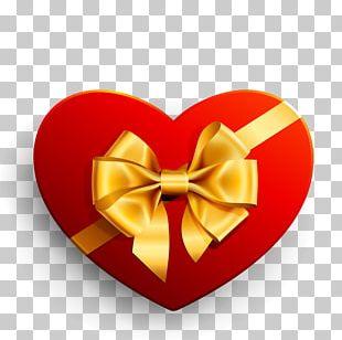 Heart Gift Ribbon PNG