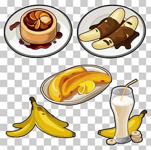 Juice Pisang Goreng Banana Cake Banana Pudding PNG