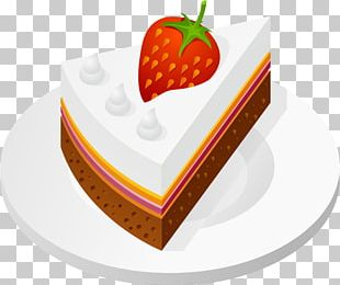 Birthday Cake Dessert Strawberry Cream Cake Shortcake PNG