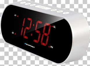 Blaupunkt CR 6SL Silver Radio Alarm Clock Phase-locked Loop FM Broadcasting PNG