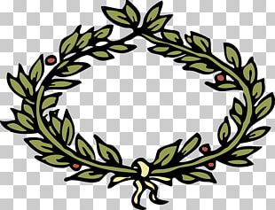 Laurel Wreath Crown Computer Icons PNG