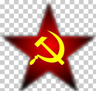 Soviet Union Hammer And Sickle Communist Symbolism Red Star Communism PNG