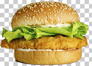 Chicken Sandwich Hamburger Cheeseburger McDonald's Big Mac French Fries PNG