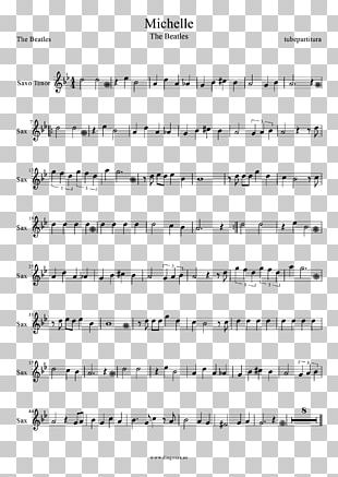 Sheet Music The Beatles Flute Violin PNG