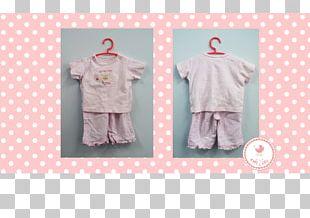 Polka Dot Outerwear Textile Nightwear Pink M PNG