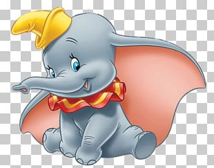 Dumbo With Yellow Hat PNG