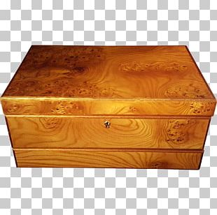 Casket Box Wood Stain Rectangle PNG