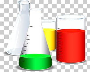 Liquid Beaker Test Tube Container PNG