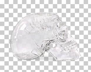 Crystal Skull Quartz Glass PNG