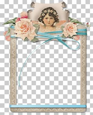 Paper Decoupage Watercolor Painting PNG