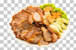 Barbecue Pig Roast Chinese Cuisine French Fries Asado PNG