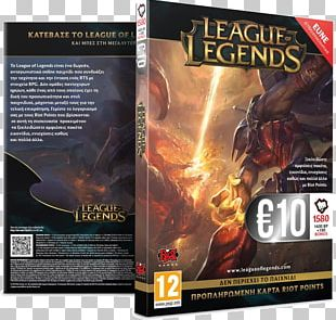 League Of Legends Riot Games 10 Euro Note Electronic Sports PNG