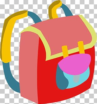 Cartoon Bag Home Page PNG