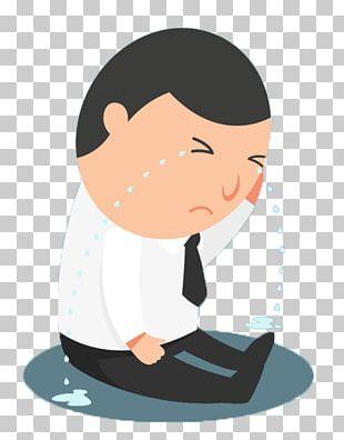 Crying Cartoon Sadness PNG