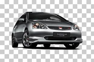 Honda Civic Type R Bumper Compact Car PNG
