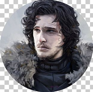Portrait Jon Snow Art Commission Game Of Thrones PNG