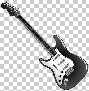 Electric Guitar Bass Guitar Fingerboard Musical Instruments PNG