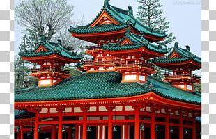 Heian Shrine Kinkaku-ji Shinto Shrine Itsukushima Shrine Fushimi Inari-taisha PNG