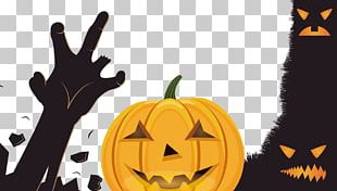 Halloween Jack Cabeza De Calabaza Illustration PNG