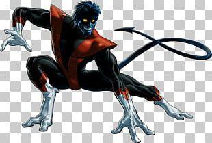 Nightcrawler Professor X Iceman Cyclops Gambit PNG
