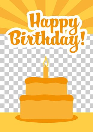 Birthday Cake Greeting Card Gift Wish PNG
