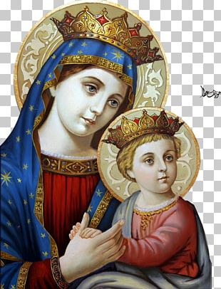Mary Our Lady Of Perpetual Help Madonna Eastern Orthodox Church Icon PNG