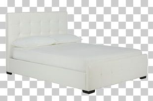 Mattress Bed Frame Box-spring Upholstery Headboard PNG