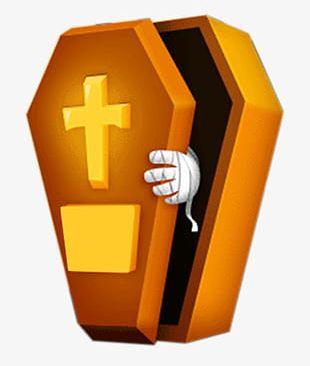Open Coffin PNG
