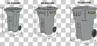 Cubic Yard Rubbish Bins & Waste Paper Baskets Container Gallon PNG