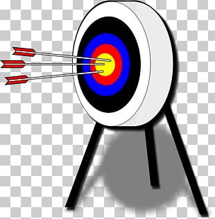 Target Archery Bow And Arrow PNG
