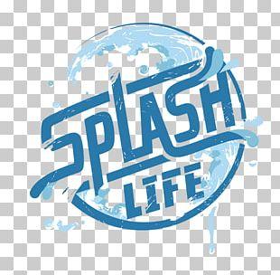 Logo Water Splash Brand PNG