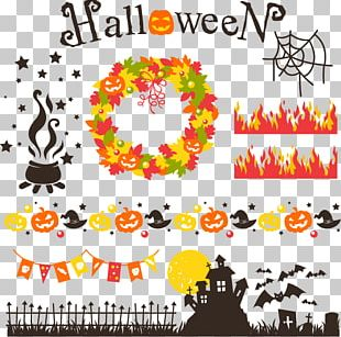 Halloween Euclidean Jack-o'-lantern Illustration PNG