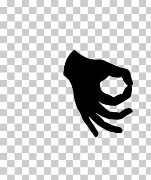 OK Sign Language Symbol Thumb PNG