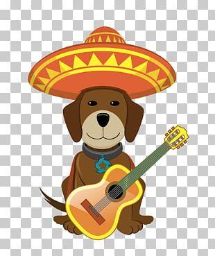 Dog Puppy Cinco De Mayo PNG