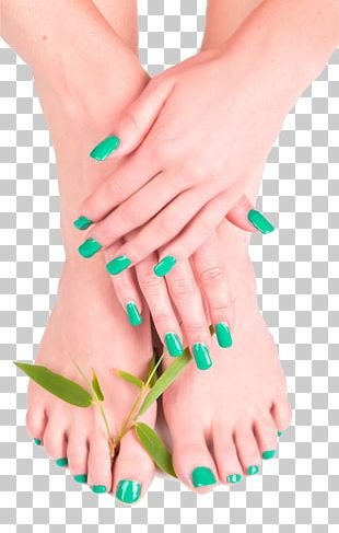 Pedicure Manicure Nail Spa PNG