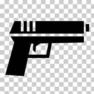 Pistol Computer Icons Firearm Air Gun Weapon PNG