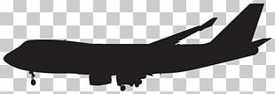 Airplane Silhouette Icon PNG