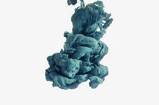 Blue Dense Smoke PNG