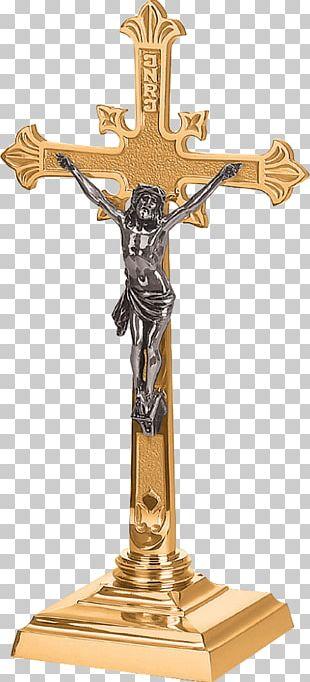 Altar Crucifix Altar Cloth Altar In The Catholic Church PNG