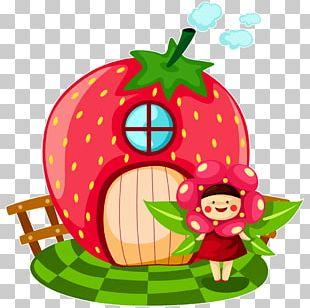 Strawberry Cartoon PNG