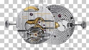 Watch Tourbillon Time Mechanism Clothing Accessories PNG