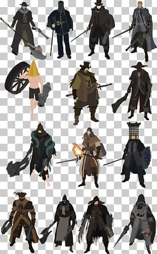Bloodborne: The Old Hunters Concept Art Character Souls PNG
