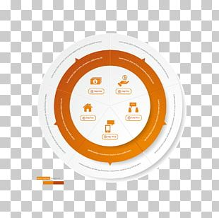 Circle Infographic Information Chart PNG