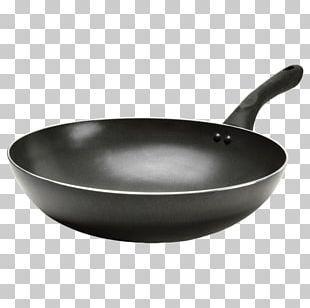 Frying Pan Wok Cookware Non-stick Surface PNG