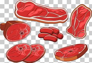 Ham Bacon Meat Drawing PNG