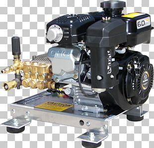 Gas Engine Pressure Washers Skid Mount Machine PNG