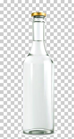 Glass Bottle Drink PNG