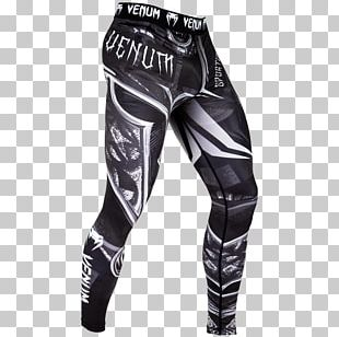 Venum Mixed Martial Arts Clothing Grappling Spats PNG