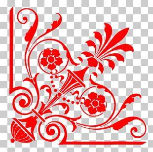 Wedding Invitation Paper Ornament Pattern PNG